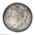 Proof Morgan Dollars: , 1878 8TF $1 PR66 PCGS. VAM-14.3. Deeply and colorfully toned atopglassy proof mirrors of sub...