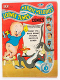 Golden Age (1938-1955):Cartoon Character, Looney Tunes and Merrie Melodies Comics #3 (Dell, 1942) Condition:VG....