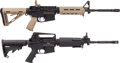 Long Guns:Semiautomatic, Lot of Two Cased AR-15 Type Semi-Automatic Rifles.... (Total: 2Items)