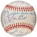 Autographs:Baseballs, 1972 Boston Red Sox Team Signed Baseball. ...