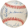 Autographs:Baseballs, 1998 New York Yankees World Series Team Signed Baseball. ...