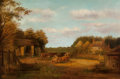 Fine Art - Painting, American:Antique  (Pre 1900), Edward Lamson Henry (American, 1841-1919). The Farmyard. Oilon canvas. 20-1/4 x 30-1/2 inches (51.4 x 77.5 cm). Signed ...