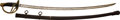 Edged Weapons:Swords, U.S. Model 1860 Light Cavalry Saber Manufactured by C. Roby and Dated 1865....