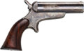 Handguns:Derringer, Palm, Sharps & Hankins Breech-Loading Model 3A Pepperbox Pistol....