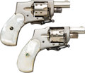 Handguns:Double Action Revolver, Lot of Two Baby Hammerless Double Action Revolvers.... (Total: 2 Items)