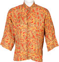 Music Memorabilia:Costumes, Jimi Hendrix Owned and Worn Nehru Shirt (Circa 1967-70)....