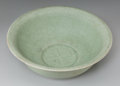 Asian:Chinese, A Chinese Celadon Glazed Porcelain Bowl. 3-1/2 h x 9-3/4 d inches(8.9 x 24.8 cm). ...
