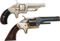 Handguns:Single Action Revolver, Lot of Two Single Action Pocket Revolvers.... (Total: 2 Items)