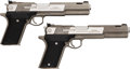 Handguns:Semiautomatic Pistol, Cased Lot of Two AMT Automag V Semi-Automatic Pistols.... (Total: 2 Items)