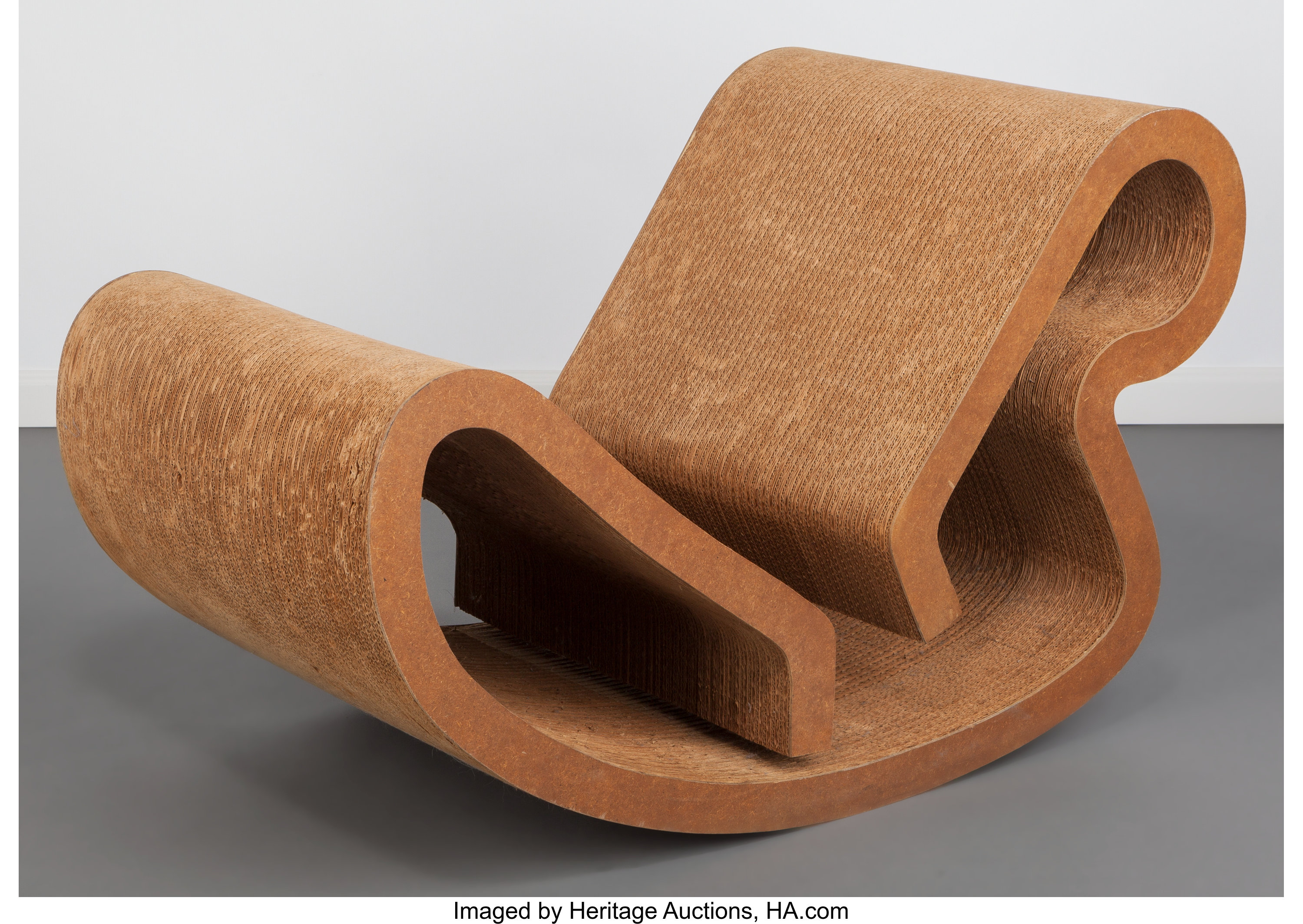 Frank Gehry Chaise Carton frank gehry (canadian/american, b. 1929). rocking chaise