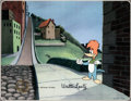 Animation Art:Production Cel, Woody Woodpecker Production Cel (Walter Lantz, c. 1970s)....