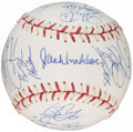 Autographs:Baseballs, 2004 National League All-Stars Team Signed Baseball. ...