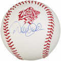 Autographs:Baseballs, 1998 World Series Derek Jeter Single Signed Baseball. ...