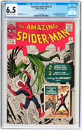 Silver Age (1956-1969):Superhero, The Amazing Spider-Man #2 (Marvel, 1963) CGC FN+ 6.5 Off-white to white pages....