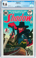 Bronze Age (1970-1979):Miscellaneous, The Shadow #1 (DC, 1973) CGC NM+ 9.6 Off-white to white pages....