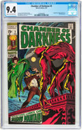 Bronze Age (1970-1979):Horror, Chamber of Darkness #3 (Marvel, 1970) CGC NM 9.4 Cream to off-whitepages....
