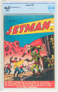 Golden Age (1938-1955):Science Fiction, Jetman #28 (Bell Features, 1951) CBCS FN 6.0 White pages....