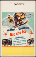 "Movie Posters:Comedy, Hit the Ice (Universal, 1943). Window Card (14"" X 22""). Comedy.. ..."