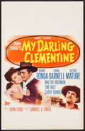 """Movie Posters:Western, My Darling Clementine (20th Century Fox, 1946). Window Card (14"""" X22"""") & Uncut Pressbook (20 Pages, 11"""" X 16""""). Western.. ...(Total: 2 Item)"""
