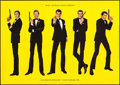 "Movie Posters:James Bond, James Bond - World of James Bond (United Artists, 1998). German A1(23.5"" X 33""). James Bond.. ..."