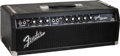 Musical Instruments:Amplifiers, PA, & Effects, 1964 Fender Bandmaster Black Guitar Amplifier Head, Serial #A06117....