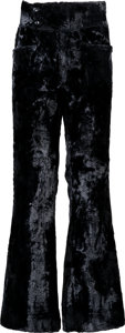 Music Memorabilia:Costumes, Jimi Hendrix Owned and Worn Crushed Velvet Pants (Circa1967-70)....