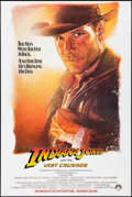 "Movie Posters:Action, Indiana Jones and the Last Crusade & Other Lot (Paramount, 1989). One Sheets (2) (27"" X 40.5"" & 27"" X 40"") SS Advance. Actio... (Total: 2 Items)"