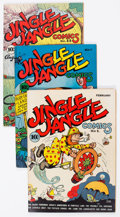 Golden Age (1938-1955):Humor, Jingle Jangle Comics #1-42 Complete Series Group (Eastern Color, 1942-49) Condition: Average VG/FN.... (Total: 42 Comic Books)