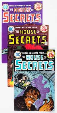 House of Secrets #121-154 Group (DC, 1974-78) Condition: Average VF.... (Total: 34 Comic Books)
