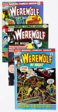 Bronze Age (1970-1979):Horror, Werewolf by Night Group of 38 (Marvel, 1972-77) Condition: AverageFN.... (Total: 38 Comic Books)