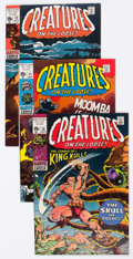 Bronze Age (1970-1979):Horror, Creatures on the Loose Group of 27 (Marvel, 1971-75) Condition:Average FN/VF.... (Total: 27 Comic Books)