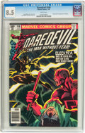 Modern Age (1980-Present):Superhero, Daredevil #168 (Marvel, 1981) CGC VF+ 8.5 White pages....