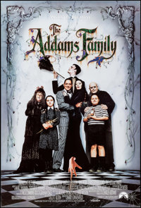 "The Addams Family (Paramount, 1991). One Sheets (2) (27"" X 40""). SS Regular and Advance. Comedy. ... (Total: 2..."