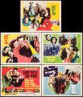 "Movie Posters:Academy Award Winners, Gone with the Wind (MGM, R-1954). Lobby Cards (5) (11"" X 14"").Academy Award Winners.. ... (Total: 5 Items)"