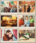 "Movie Posters:Academy Award Winners, Gone with the Wind (MGM, R-1961). Lobby Cards (6) (11"" X 14"").Academy Award Winners.. ... (Total: 6 Items)"