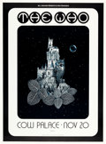 Music Memorabilia:Posters, The Who Cow Palace Concert Poster AOR-4.42 (Bill Graham, 1973)....