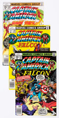 Modern Age (1980-Present):Superhero, Captain America Group of 90 (Marvel, 1971-85) Condition: AverageFN/VF.... (Total: 90 Comic Books)
