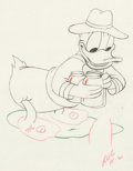 Animation Art:Production Drawing, Honey Harvester Donald Duck Animation Drawing (Walt Disney,1949)....
