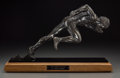 Fine Art - Painting, American:Contemporary   (1950 to present)  , Auldwin Thomas Schomberg (American, b. 1943). The StartingBlocks. Bronze with brown patina. 10-1/2 inches (26.7 cm)hig...