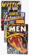 Golden Age (1938-1955):Miscellaneous, Atlas Golden and Silver Age Comics Group of 6 (Atlas, 1954-57) Condition: Average FR.... (Total: 6 Comic Books)
