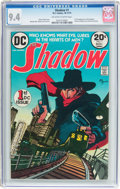 Bronze Age (1970-1979):Miscellaneous, The Shadow #1 (DC, 1973) CGC NM 9.4 Off-white to white pages....