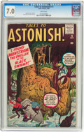 Silver Age (1956-1969):Horror, Tales to Astonish #11 (Marvel, 1960) CGC FN/VF 7.0 White pages....