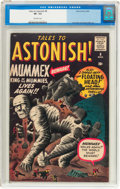Silver Age (1956-1969):Mystery, Tales to Astonish #8 (Marvel, 1960) CGC VF- 7.5 Off-white pages....