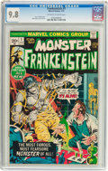 Bronze Age (1970-1979):Horror, Frankenstein #1 (Marvel, 1973) CGC NM/MT 9.8 Off-white to whitepages....