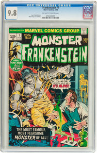 Frankenstein #1 (Marvel, 1973) CGC NM/MT 9.8 Off-white to white pages
