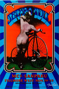 Music Memorabilia:Posters, Jethro Tull Fillmore West Concert Poster BG-203 Signed by ArtistRandy Tuten (Bill Graham, 1969)....