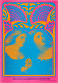 Music Memorabilia:Posters, Chambers Brothers/Iron Butterfly Avalon Ballroom Concert PosterFD-59 (Family Dog, 1967)....