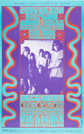 Music Memorabilia:Posters, Jefferson Airplane Fillmore Auditorium Concert Poster BG-42 (BillGraham, 1966)....