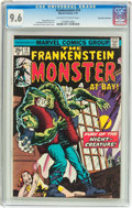 Bronze Age (1970-1979):Horror, Frankenstein #14 Don Rosa Collection Pedigree (Marvel, 1975) CGCNM+ 9.6 Off-white to white pages....