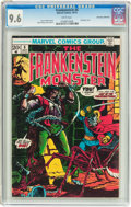 Bronze Age (1970-1979):Horror, Frankenstein #6 Don Rosa Collection Pedigree (Marvel, 1973) CGC NM+9.6 White pages....